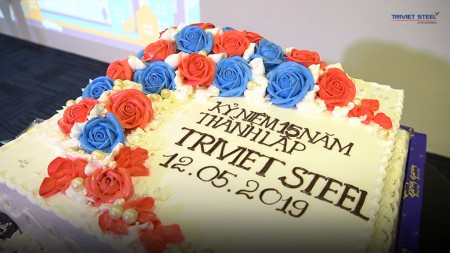 The 15th anniversary of Triviet Steel Buildings Co., Ltd