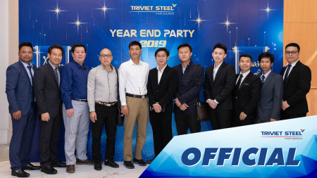 Tiệc Tất Niên Year End Party Triviet Steel 2019