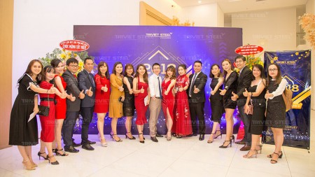 More than 300 guests invited to Triviet Steel Year End Party 2018