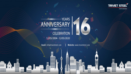 The 16th anniversary of Triviet Steel Buildings Co., Ltd